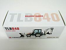1:50 NZG Terex TLB840 Backhoe TLB 840 Tractor Loader Backhoe