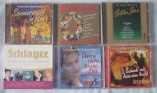Deutsch Schlager CDs Konvolut Discoschlager Superschlager Golden Stars