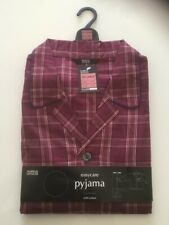 Marks and Spencer Mens XXL Pyjamas - Brand New - Red - Lovely Red Check Pattern