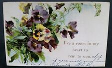 """""""I've Room in My Heart To Rent You""""  Memphis Tennessee TN 1910"""