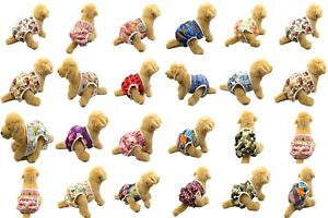 Dog Puppy Pet Cats Nappy Diapers Short Season Sanitary Pants Undies Underpants
