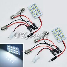 White DC 12V Panel 1210 SMD 12 LED Interior BA9S Bulb Car Festoon Dome Light