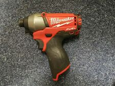 Milwaukee Fuel M12CID impact driver brushless