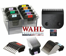 Wahl Stainless-Steel ATTACHMENT COMB SET&ULTIMATE # 30 BLADE*Fit KM2,KM5 Clipper