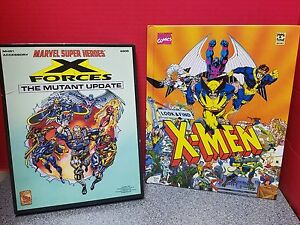 Marvel Comics Roleplaying Game X-Forces Mutant Update Plus Look & Find Book 1992