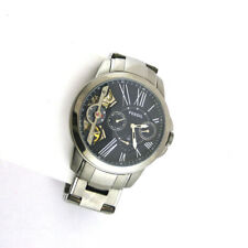 Fossil ME1146 Grant Twist Multi-Function Date Stainless Steel Link Mens Watch