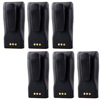 6 ×7.2V 1000mAh Battery Pack For Motorola Two-Way Radio CP040 CP140 CP150 CP180