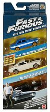 Mattel - Fast and Furious 8 - Ultimate Performance Pack 3 Car Pack - Brand New