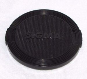 Used Sigma Black 55mm Lens Front Cap Made in Japan B01402