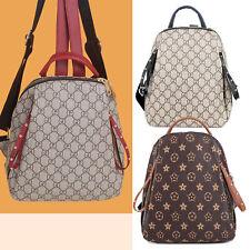 Casual Backpack Unisex Schoolbag Small Outdoor Bag Rucksack Rivet Purse Handbag