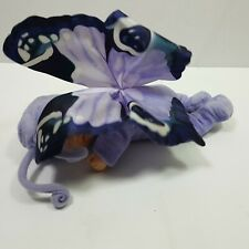 Anne Geddes Purple Butterfly Baby Decoration Collectible Plastic 9 Inches Long