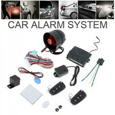 Car Alarm Security System With Keyless Entry Start Remote Key Fob Siren Sensor