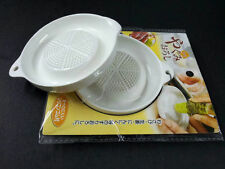 Grater mash Ginger Porcelain White Round ceramic cheese garlic new keep juice
