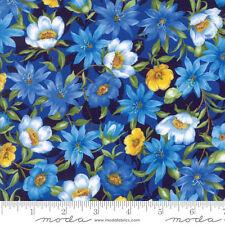 1 Half Metre Moda Summer Breeze IV Flower Print Fabric - 33280-15  100% cotton