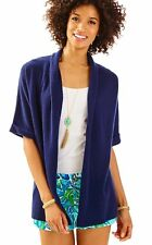 NWT Lilly Pulitzer Belmont Cashmere Cardigan in True Navy, Sz XS, $218