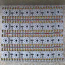 Qty 24 NTE R95-113 8 Pin Octal Relay Socket Screw Terminals DIN Panel Mount 300V