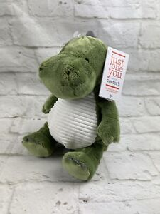 NWT Carters Just One You Dinosaur Plush Target Soft Stuffed Baby Lovey Toy