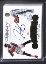 2015-16 Panini Flawless Now and Then Autograph #NT-HW Hassan Whiteside