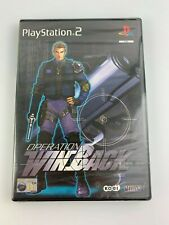 PS2 Operation Winback (2001), Brand New & Factory Sealed, Flawed