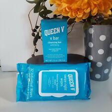 Queen V Feminine Hygiene Wipes - 32ct & V Cleaning Bar 3.5oz pH-Balanced