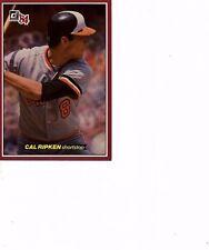1984 Donruss Action All Stars Cal Ripken Jr  #20 Orioles 20 in auction  (400