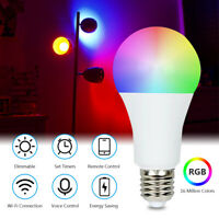 LED Wireless WiFi Smart Bulb Light Dimmbare Lampe Für Amazon Alexa Google Home