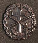 Navy wound bronze badge - Kreigsmarine