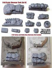 1/48 Allied Sherman Tank Set #2 (fits all 1/48 Tanks) - ValueGearResinStowage