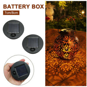 1/2pcs Home Replacement Top Outdoor Led Battery Box Solar Lamp Professional