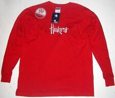 UNIVERSITY OF NEBRASKA YOUTH GIRLS LARGE T-SHIRT Tee Cornhuskers Huskers Red L