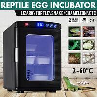 Reptile Egg Incubator Pet Turtle Chicken Chameleon Goose Brooder Lizard