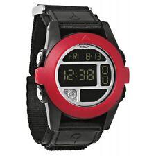 Nixon Digital Sport Watch Baja Black Mens A489760
