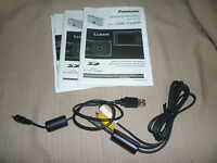 Panasonic LUMIX DMC-FX99P Digital Camera Instruction Pack with Cables