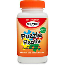 Meyco Hobby Puzzlekleber Fixativ 120ml Spezial Kleber für Puzzle transparent