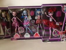 Monster High Dot Dead Gorgeous Lot 5 Operetta Lagoona Ghoulia Draculaura Abbey