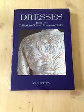 Diana Princess Of Wales DRESSES. Christies Sale Catalogue. New And Unopened.