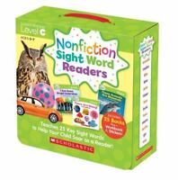 Nonfiction Sight Word Readers Parent Pack Level C: Teaches 25 Key Sight Words to