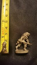 Pewter Lycan Figurine holding sword