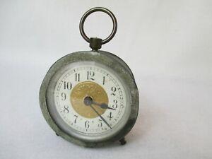 Art Nouveau Alarm Travel Clock Table Clock