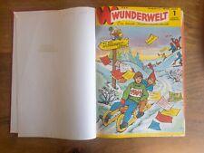 Wunderwelt, Die bunte Jugendzeitschrift, Jg. 1964, gebunden