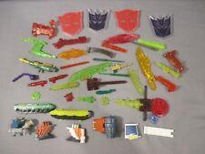 Transformers Energon ACCESSORY & PARTS Lot Autobot & Decepticons