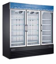 SABA Heavy Duty Commercial Three Glass Door Merchandiser Cooler