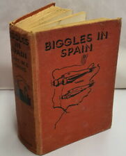 First Edition Biggles In Spain Capt W E Johns c1939 Oxford University Press HB