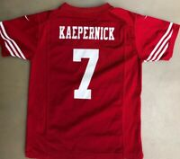 Colin Kaepernick San Francisco 49ers NFL Football Red Nike Jersey Size Youth M