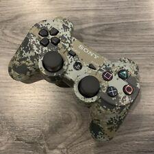 Sony PS3 DualShock 3 Sixaxis Controller - OEM Original - Camo - Refurbished