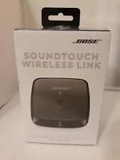 New Bose SoundTouch Wireless Link Adapter Wi-Fi Bluetooth Complete New Sealed