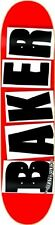 Baker logo brand black skateboard deck stimato (7.875) ** grip gratis ** Spedizione gratuita **