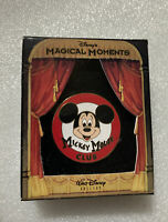 Walt Disney's Magical Moments Mickey Mouse Club Badge Pin. New In Box