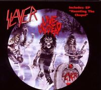 "SLAYER ""LIVE UNDEAD/HAUNTING THE CHAPEL"" CD NEUWARE!!!!"