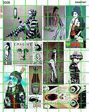 6008 DAVE'S DECALS MODERN URBAN STREET ART AND GRAFFITI COLORFUL POP ART BANKSY